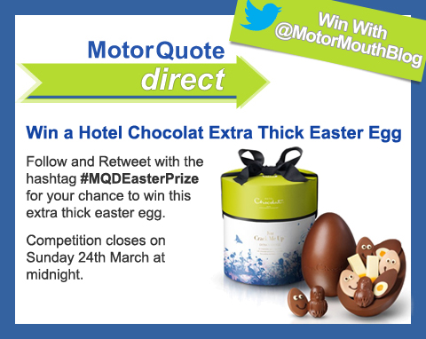 MotorQuoteDirect Twitter Easter Competition