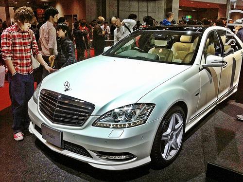 Mercedes-Benz S-Class car show