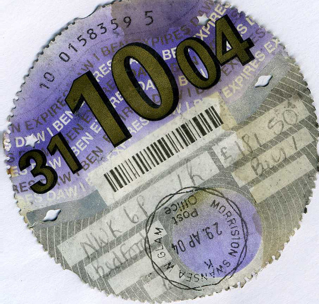 Image of Tax Disc