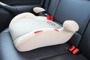 Backless booster seat